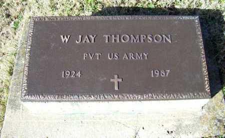 THOMPSON, W. JAY - Scioto County, Ohio | W. JAY THOMPSON - Ohio Gravestone Photos