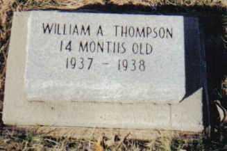 THOMPSON, WILLIAM A. - Scioto County, Ohio | WILLIAM A. THOMPSON - Ohio Gravestone Photos