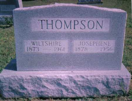 THOMPSON, WILTSHIRE - Scioto County, Ohio | WILTSHIRE THOMPSON - Ohio Gravestone Photos