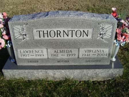 THORNTON, VIRGINIA - Scioto County, Ohio | VIRGINIA THORNTON - Ohio Gravestone Photos