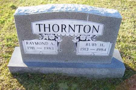 THORNTON, RUBY H. - Scioto County, Ohio   RUBY H. THORNTON - Ohio Gravestone Photos