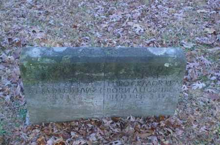 THROCKMORTEN, UNKNOWN - Scioto County, Ohio | UNKNOWN THROCKMORTEN - Ohio Gravestone Photos