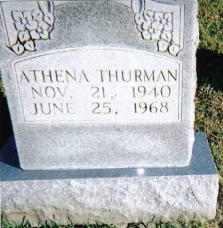 THURMAN, ATHENA - Scioto County, Ohio | ATHENA THURMAN - Ohio Gravestone Photos