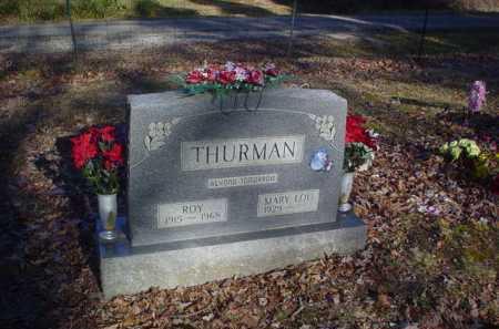 THURMAN, MARY LOU - Scioto County, Ohio | MARY LOU THURMAN - Ohio Gravestone Photos