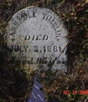 TIMBLIN, ANNABLE - Scioto County, Ohio | ANNABLE TIMBLIN - Ohio Gravestone Photos
