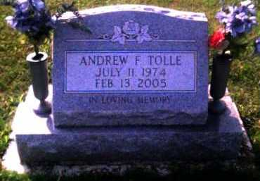 TOLLE, ANDREW F. - Scioto County, Ohio | ANDREW F. TOLLE - Ohio Gravestone Photos