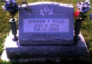TOLLE, ANDREW F. - Scioto County, Ohio   ANDREW F. TOLLE - Ohio Gravestone Photos