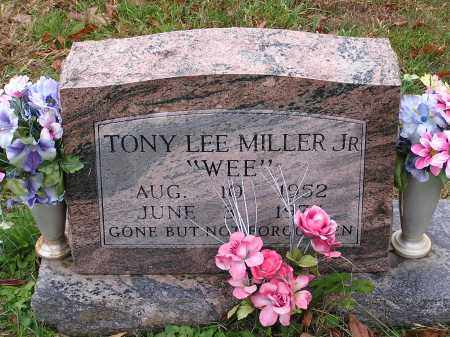 MILLER JR. TONY, LEE - Scioto County, Ohio   LEE MILLER JR. TONY - Ohio Gravestone Photos
