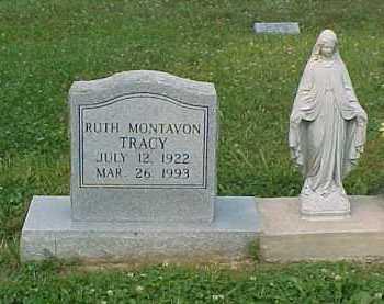 MONTAVON TRACY, RUTH - Scioto County, Ohio | RUTH MONTAVON TRACY - Ohio Gravestone Photos