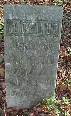 VANDERFORD, MARGARET - Scioto County, Ohio | MARGARET VANDERFORD - Ohio Gravestone Photos