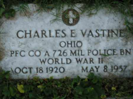 VASTINE, CHARLES - Scioto County, Ohio   CHARLES VASTINE - Ohio Gravestone Photos