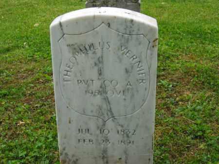 VERNIER, THEOPHILUS - Scioto County, Ohio | THEOPHILUS VERNIER - Ohio Gravestone Photos