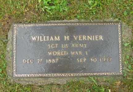 VERNIER, WILLIAM H. - Scioto County, Ohio   WILLIAM H. VERNIER - Ohio Gravestone Photos