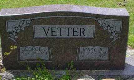 VETTER, MARY JO - Scioto County, Ohio | MARY JO VETTER - Ohio Gravestone Photos