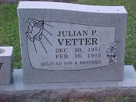 VETTER, JULIAN P. - Scioto County, Ohio | JULIAN P. VETTER - Ohio Gravestone Photos