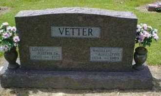 VETTER, LOUIS JOSEPH SR. - Scioto County, Ohio | LOUIS JOSEPH SR. VETTER - Ohio Gravestone Photos