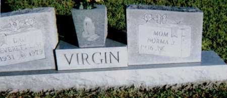 VIRGIN, NORMA J. - Scioto County, Ohio | NORMA J. VIRGIN - Ohio Gravestone Photos