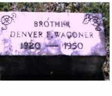 WAGONER, DENVER F. - Scioto County, Ohio | DENVER F. WAGONER - Ohio Gravestone Photos