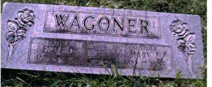 WAGONER, ESTLE O. - Scioto County, Ohio | ESTLE O. WAGONER - Ohio Gravestone Photos