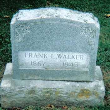 WALKER, FRANK L. - Scioto County, Ohio   FRANK L. WALKER - Ohio Gravestone Photos