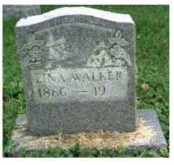 WALKER, LINA - Scioto County, Ohio | LINA WALKER - Ohio Gravestone Photos