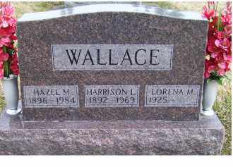 WALLACE, HARRISON L. - Scioto County, Ohio | HARRISON L. WALLACE - Ohio Gravestone Photos
