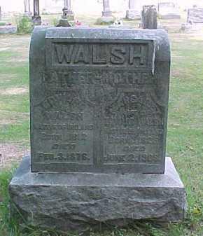 WALSH, EDMUND - Scioto County, Ohio | EDMUND WALSH - Ohio Gravestone Photos