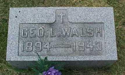 WALSH, GEO. L. - Scioto County, Ohio   GEO. L. WALSH - Ohio Gravestone Photos