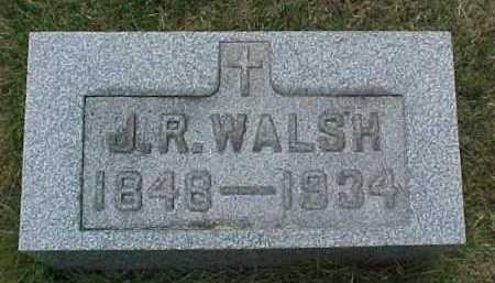 WALSH, J. R. - Scioto County, Ohio | J. R. WALSH - Ohio Gravestone Photos