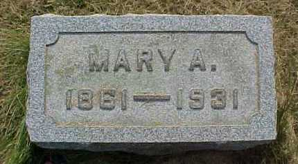 WALSH, MARY A. - Scioto County, Ohio | MARY A. WALSH - Ohio Gravestone Photos