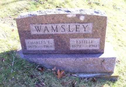 WAMSLEY, ESTELLE - Scioto County, Ohio   ESTELLE WAMSLEY - Ohio Gravestone Photos