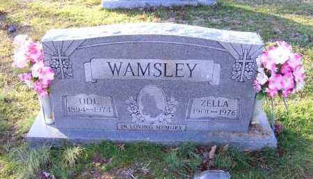 WAMSLEY, ODE - Scioto County, Ohio | ODE WAMSLEY - Ohio Gravestone Photos