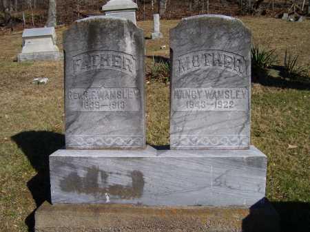 WAMSLEY, NANCY - Scioto County, Ohio   NANCY WAMSLEY - Ohio Gravestone Photos