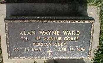 WARD, ALAN WAYNE - Scioto County, Ohio | ALAN WAYNE WARD - Ohio Gravestone Photos