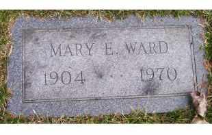 WARD, MARY E. - Scioto County, Ohio | MARY E. WARD - Ohio Gravestone Photos