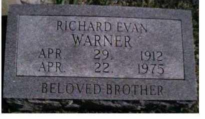 WARNER, RICHARD EVAN - Scioto County, Ohio | RICHARD EVAN WARNER - Ohio Gravestone Photos