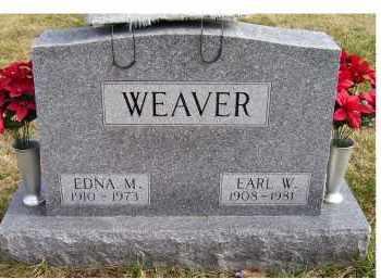 WEAVER, EARL W. - Scioto County, Ohio | EARL W. WEAVER - Ohio Gravestone Photos