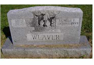 WEAVER, MILDRED - Scioto County, Ohio | MILDRED WEAVER - Ohio Gravestone Photos