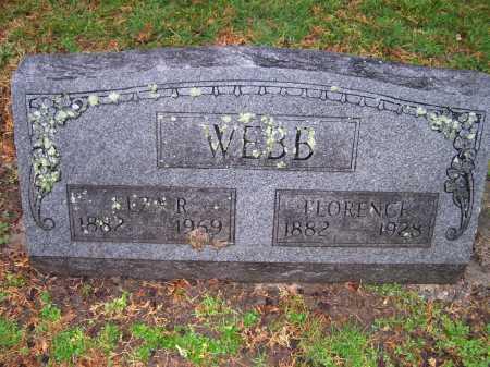WEBB, FLORENCE - Scioto County, Ohio | FLORENCE WEBB - Ohio Gravestone Photos