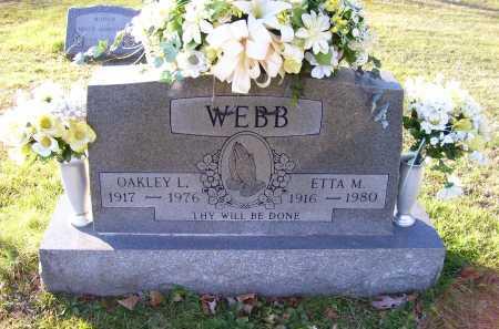 WEBB, ETTA M. - Scioto County, Ohio | ETTA M. WEBB - Ohio Gravestone Photos