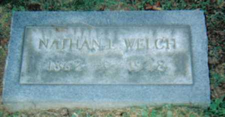 WELCH, NATHAN L. - Scioto County, Ohio | NATHAN L. WELCH - Ohio Gravestone Photos