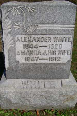 WHITE, AMANDA J. - Scioto County, Ohio   AMANDA J. WHITE - Ohio Gravestone Photos
