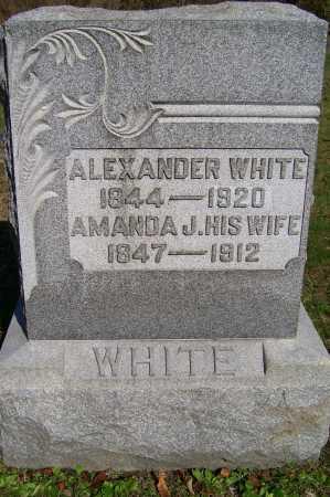 WHITE, ALEXANDER - Scioto County, Ohio | ALEXANDER WHITE - Ohio Gravestone Photos