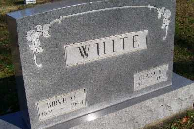 WHITE, CLARA B. - Scioto County, Ohio | CLARA B. WHITE - Ohio Gravestone Photos