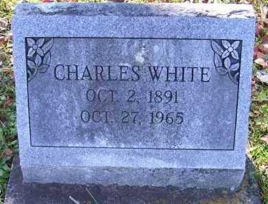 WHITE, CHARLES - Scioto County, Ohio | CHARLES WHITE - Ohio Gravestone Photos