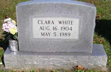 WHITE, CLARA - Scioto County, Ohio | CLARA WHITE - Ohio Gravestone Photos