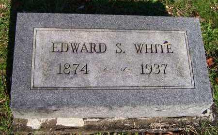 WHITE, EDWARD S. - Scioto County, Ohio   EDWARD S. WHITE - Ohio Gravestone Photos