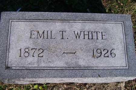 WHITE, EMIL T. - Scioto County, Ohio | EMIL T. WHITE - Ohio Gravestone Photos