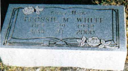 WHITE, FLOSSIE M. - Scioto County, Ohio | FLOSSIE M. WHITE - Ohio Gravestone Photos