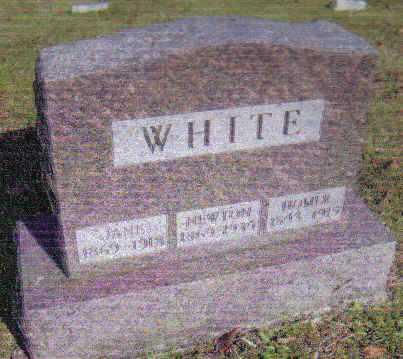 WHITE, HOMER - Scioto County, Ohio | HOMER WHITE - Ohio Gravestone Photos